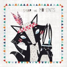 Oopsy Daisy Savor the Moments 21 x 21-inch Stretched Canvas Wall Art
