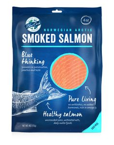 Blue Circle Seafood Redesign on Packaging of the World - Creative Package Design Gallery Food Packaging Design, Packaging Design Inspiration, Branding Design, Packaging Boxes, Smoked Fish, Smoked Salmon, Inspiration Wand, Seafood Market, Seafood Party