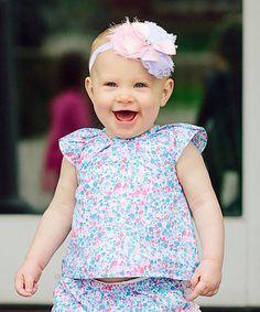 Look at this #zulilyfind! Purple Flutter Fly-Away Top - Infant & Toddler #zulilyfinds