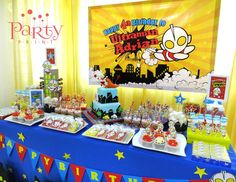 "Ultraman / Birthday ""Ultraman Adrian turns 4"" 