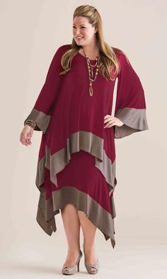 Marlo Skirt / MiB Plus Size Fashion for Women / Winter Fashion / http://www.makingitbig.com/product/5065