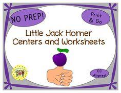 little jack horner unit