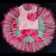 Baby Girls Birthday Tutu Dress, 1st Birthday Outfits for Toddler Girls, Cake Smash Outfit and Birthday Photo Props, Cakesmash Sets