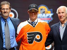Ivan Provorov poses after being selected seventh overall by the Philadelphia Flyers in the first round of the 2015 NHL Draft at BB&T Center. YEA!!!!!!!!