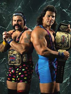 WWF Tag Team Champions Steiner Brothers (Rick and Scott)