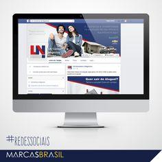 Facebook – LN Consórcios & Negócios > Configuração da página da empresa LN Consórcios & Negócios no Facebook < #redessociais #marcasbrasil #agenciamkt #publicidadeamericana