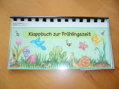 Klipp- Klapp at spring time Lavenda has wanted a folding book for the spring time. Thankfully, I was Thing 1, Spring Projects, Science For Kids, Primary School, Classroom Management, Spring Flowers, Spring Time, Fun Facts, Homeschool