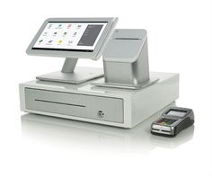 POS Terminal Station - Clover, powered by First Data Money Safe Box, Coffee Shop Counter, Merchant Account, Thermal Printer, Id Design, Point Of Sale, Cloud Based, My Coffee, Accounting