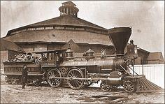 Pennsylvania railroad photo from the Civil War
