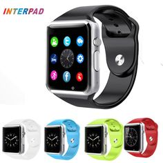 Flash Deals $11.83, Buy Interpad High Quality Android Smart Watch A1 Bluetooth Clock With Pedometer SMS Sync Support Camera TF SIM Card Smartwatch gt08