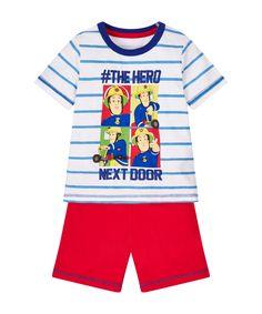 Fireman Sam Shortie Pyjamas - £6