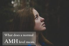What does a normal AMH level mean. #ivf #ivfjourney