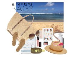 """""""What's in My Bag?"""" by girlofthevalley on Polyvore featuring NARS Cosmetics, Serena & Lily, Vanessa Bruno, Black Apple, Quarto, Laura Mercier, Dita, Tkees, Forever 21 and Sun Bum"""