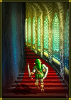 Pixel art series : ZELDA Ocarina Of Time by Forza_Pedro