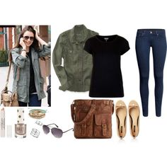 """""""Charming Outfits: Lily Collins Inspired Look + Video!"""" by ladylikecharm on Polyvore"""