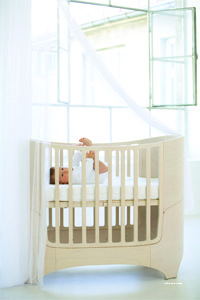 Leander Cot Bed (0 7years)   Whitewash
