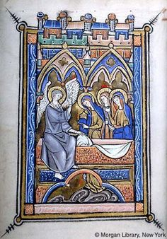 Psalter-Hours, MS M.97 fol. 21v - Images from Medieval and Renaissance Manuscripts - The Morgan Library & Museum