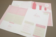 Fully editable Pink Skin Care Newsletter Template complete with photos and graphics. Newsletter Design Templates, Clear Skin, Skin Care, Pink, Beauty Products, Editorial, Layout, Display, Interior