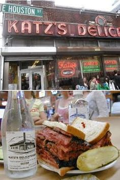 """NEW YORK JEWISH DELI - BEST sandwich in the world - Pastrami from Katz's (""""I'll have what she's having."""")"""