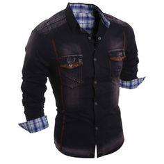 Mens Shirts   Cheap Cool Shirts For Men Online Sale   DressLily.com