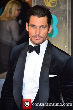 David Gandy, British Academy Film Awards - february 16, 2014
