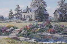 James Keirstead - Canadian master painter of landscapes, barns and old mills