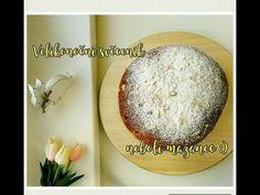 🐰Velikonoční edice🐣 Luxusní velikonoční mazanec (Svěceník) Chocolate Velvet Cake, Cakepops, Ham, Dairy, Cheese, Cupcakes, Food, Hampers, Lemon