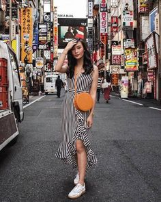 🇯🇵 On my mind today 💭 Onitsuka Tiger Women Outfit, Singapore Outfit, Tennis Fashion, Korean Girl Fashion, Tokyo Fashion, Street Fashion, Western Outfits, Cute Casual Outfits, Summer Outfits