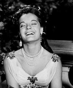 Romy Schneider during the filming of Sissi: The Fateful Years of an Empress (1957)