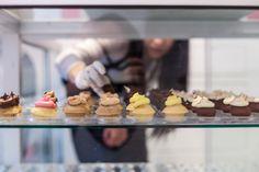 Mini cupcakes at Bite Bar.