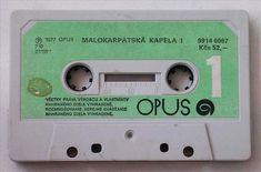 Kazeta od Opusu - Malokarpatská kapela za Kčs 52,-