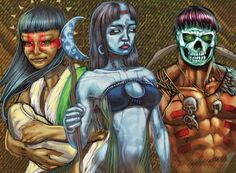 Quais são os principais deuses da mitologia indígena brasileira? ILUSTRAÇÕES: Danyael Lopes (De Mundo Estranho via Roney: Valeu Primo!)