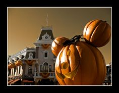 Disneyland During Halloween =)