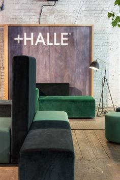 +Halle at Clerkenwell Design Week, London (2015) - Lobby sitting system