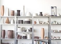 """Amazed at these gorgeous ceramics that were 3D printed by the very talented @oliviervanherpt I think Olivier sums it up perfectly when talking about the 3D Woven collection: """"Each unique vase in this collection shows us the potential of cutting edge technology while reminding us of the days of yore."""" Truly beautiful.  Image: Olivier van Herpt on oliviervanherpt.com  #interiordesign #interiors #ceramics #3dprinting #technology #art #vase #decor #styling #style #instalove #love by…"""
