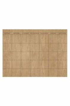 Alternate Image 1 Selected - Wallpops 'Hardwood' Monthly Dry Erase Calendar