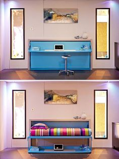 A Yo! Home convertible desk/bed - The Independent Dining table to bed idea?