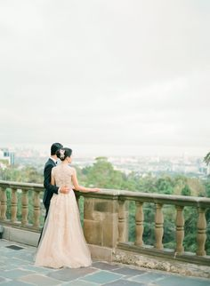 A Timeless Beverly Hills Wedding at the Greystone Mansion: Annie + Tad - KT Merry Photography | Destination Weddings Worldwide