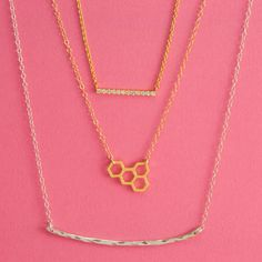 The 3-step necklace layer.