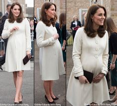 Kate Brings Back Jojo Maman Bébé for Pegasus School Visit - What Kate Wore