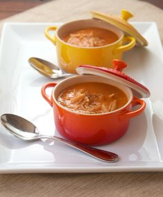 roasted tomato soup with bacon, cheese & orzo. um, YES PLEASE!