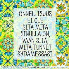 #hidasta #elämä #elämää #life #finland #suomi #repost #elämänviisaus #elämänviisauksia Finnish Words, My Ancestors, My Land, Grateful, Create Yourself, Affirmations, Motivational Quotes, Poems, Wisdom