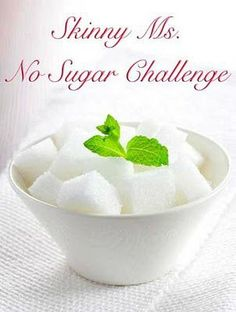 Join the No Sugar Challenge!  #noaddedsugar #challenge