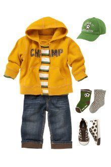 young boy's outfit