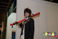 Rin Okumura Cosplay from Blue Exorcist in Asia Game Show 2011 Hong Kong