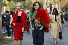 Paris Fashionweek ss2015 day 1, outside Rochas