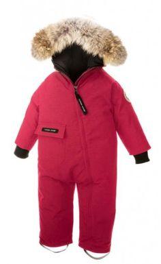 Canada Goose Baby SnowSuit multicolor