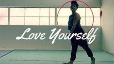 Love Yourself  Justin Bieber   Hoop Dance Freestyle