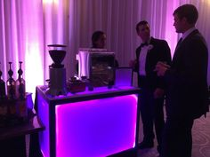 https://flic.kr/p/AaSeZV | 2015-11-04d | Espresso coffee catering cart with barista at an elegant event, Washington, DC. Orlando Florida, Las vegas www.eventbars.biz