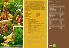 Lettuce Wraps  -- -- >>  http://vegetarianbody.com/wp-content/uploads/recipe-volume-1.pdf